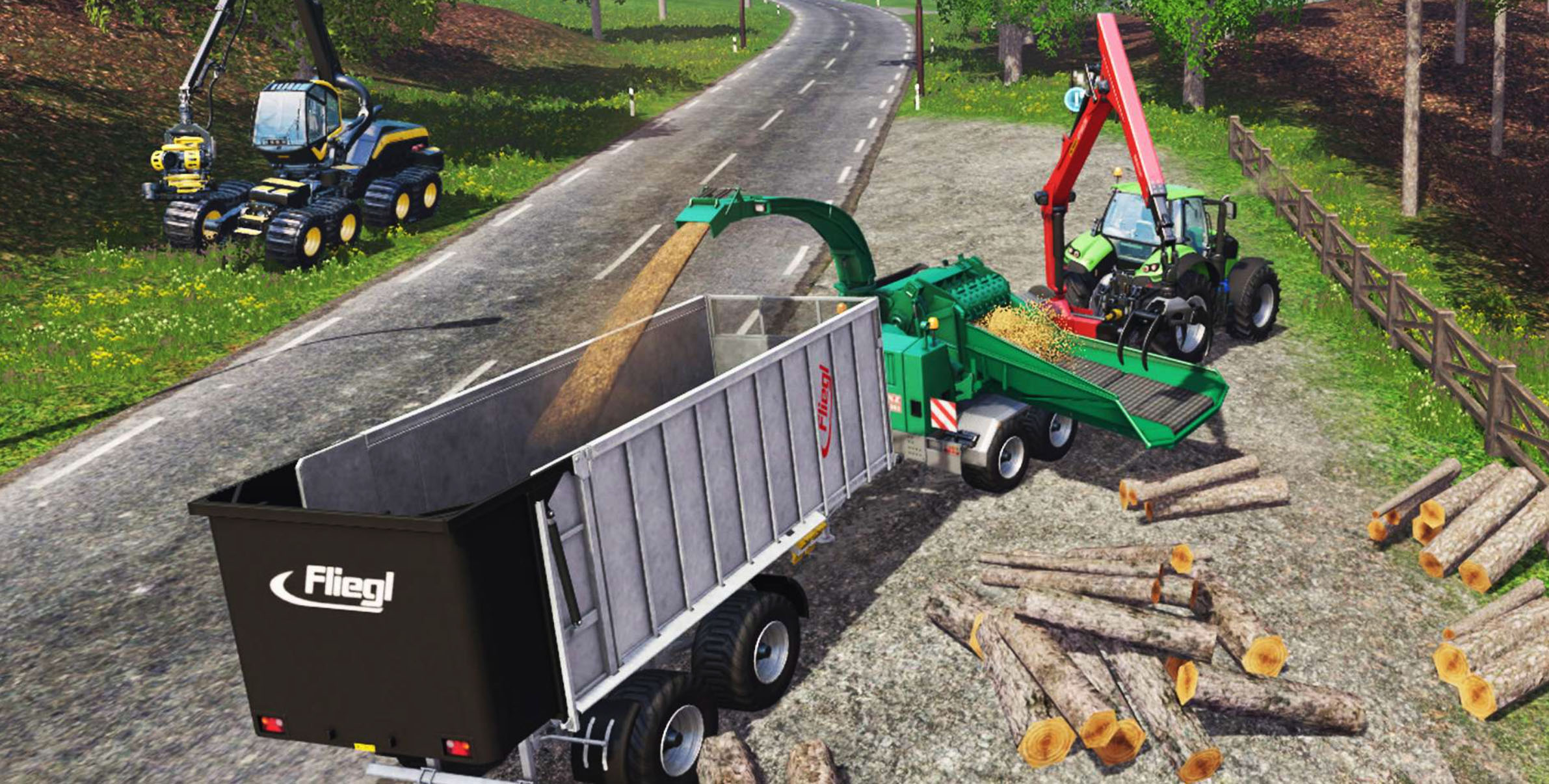 JENZ HEM 583 Z Forestry Machine