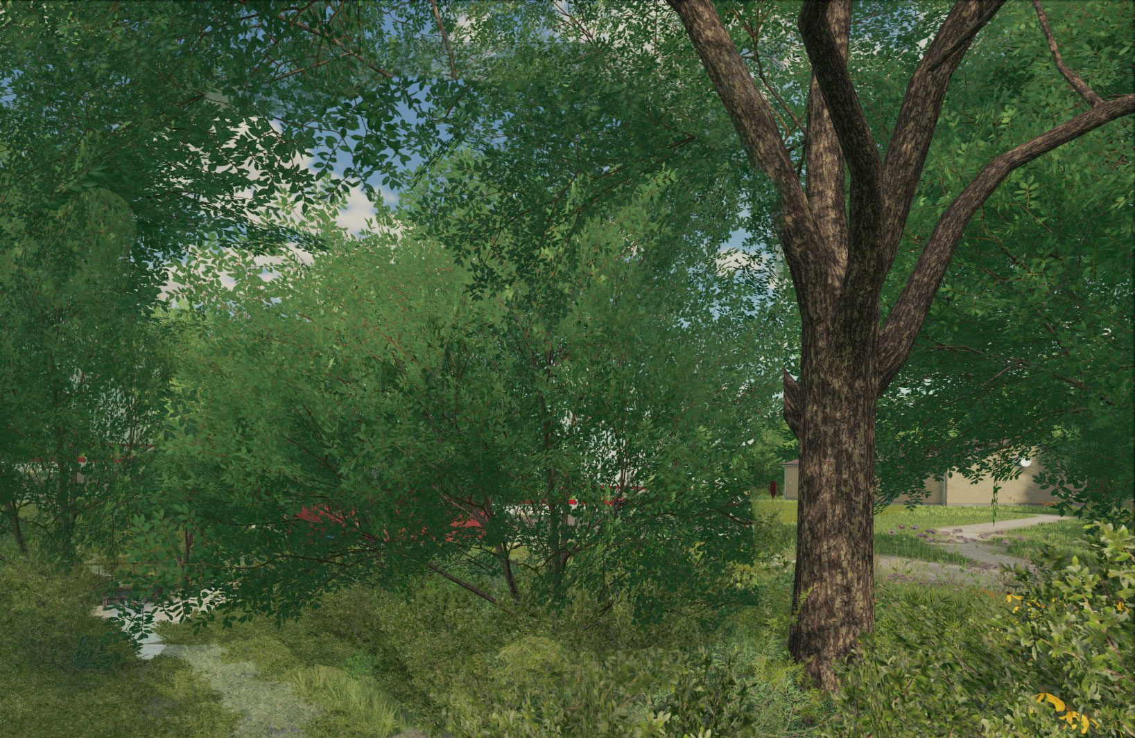 FS22 Straight trees
